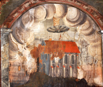 OZN - Biserica Manastirii - Sighisoara