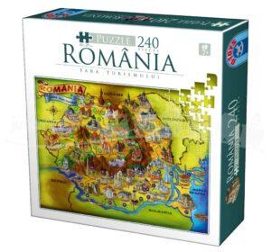 Puzzle - România - Țara Turismului (Jucarie.ro)